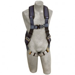 3M - 1109729 - 3M DBI-SALA 2X ExoFit XP Climbing Vest Style Harness With Back And Front D-Rings, Quick Connect Buckle Leg Strap And Removable Comfort Padding, ( Each )