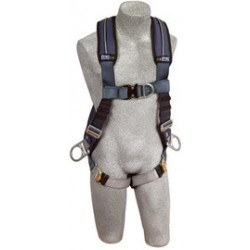 3M - 1109750 - 3M DBI-SALA Small ExoFit XP Positioning/Climbing Vest Style Harness With Back, Front And Side D-Rings, Quick Connect Buckle Leg Strap And Removable Comfort Padding, ( Each )