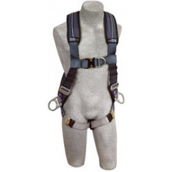 3M - 1109751 - 3M DBI-SALA Medium ExoFit XP Full Body/Vest Style Harness With Back, Front And Side D-Ring, Quick Connect Chest And Leg Strap Buckle, Loops For Body Belt And Removable Comfort Padding, ( Each )