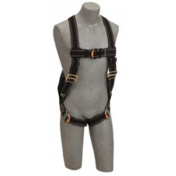 3M - 1109976 - 3M DBI-SALA X-Large Delta No-Tangle Full Body/Vest Style Harness With Back D-Ring, Quick Connect Leg Strap Buckle And Loops For Body Belt, ( Each )
