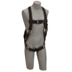 3M - 1109977 - 3M DBI-SALA 2X Delta Welder's Construction/Vest Style Harness With Back D-Ring, Quick Connect Buckle Leg Strap And Loops For Belt, ( Each )