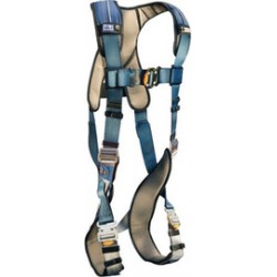 3M - 1110104 - 3M DBI-SALA 2X ExoFit XP Full Body/Vest Style Harness With Back D-Ring, Quick Connect Chest And Leg Strap Buckle, Loops For Body Belt And Removable Comfort Padding, ( Each )