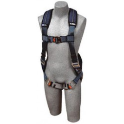 3M - 1110126 - 3M DBI-SALA Medium ExoFit XP Full Body/Vest Style Harness With Back D-Ring, Quick Connect Chest Strap Buckle, Tongue Leg Strap Buckle, Loops For Body Blet And Removable Comfort Padding, ( Each )