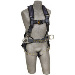 3M - 1110178 - 3M DBI-SALA X-Large ExoFit XP Construction/Full Body Style Harness With Back And Side D-Ring, Belt With Pad, Tongue Leg Strap Buckle And Removable Comfort Padding, ( Each )