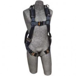 3M - 1110376 - 3M DBI-SALA Medium ExoFit XP Full Body/Vest Style Harness With Back And Shoulder D-Ring, Quick Connect Leg Strap Buckle, Loops For Belt And Removable Padding, ( Each )