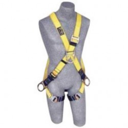Capital Safety - 1110576 - DBI/SALA Medium Delta No-Tangle Full Body/Vest Style Harness With Back And Side D-Ring, Belt With Pad, Shoulder Pads And Quick Connect Chest And Leg Strap Buckle, ( Each )