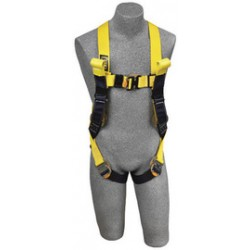 3M - 1110786 - 3M DBI-SALA 2X Delta II Arc Flash Construction Style Harness With Quick Connect Buckle Leg Strap, Back Web Loop, Rescue Loops And Leather Insulators, ( Each )