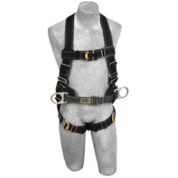3M - 1110802 - 3M DBI-SALA X-Large Delta Arc Flash No-Tangle Construction/Full Body/Vest Style Harness With Back Web Loop, Side D-Ring, Belt With Pad And Quick Connect Leg Strap Buckle, ( Each )