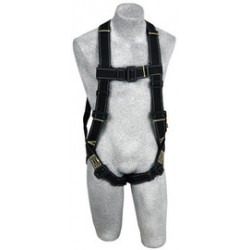 3M - 1110831 - 3M DBI-SALA X-Large Delta II Arc Flash Vest Style Harness With Back D-Ring, Pass-Thru Buckle Leg Strap And PVC Coated Hardware, ( Each )