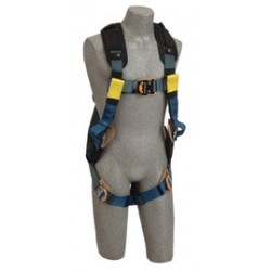 3M - 1110843 - 3M DBI-SALA Medium ExoFit XP Arc Flash Full Body/Vest Style Harness With Back D-Ring, Web Rescue Loops, Quick Connect Chest And Leg Strap Buckle, Leather Insulators And Nomex/Kevlar Comfort Padding, ( Each )