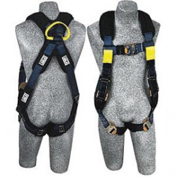 "3M - 1110847 - 3M DBI-SALA Large ExoFit XP Arc Flash Harness With PVC Coated Back D-Ring, Quick Connect Buckles, Removable Nomex/Kevlar Padding, Front Rescue Loops, Back Web Loop And 18"" Extender, ( Each )"