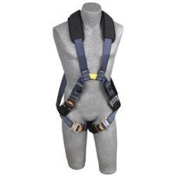 3M - 1110872 - 3M DBI-SALA X-Large ExoFit XP Arc Flash Cross Over Style Harness With Quick Connect Buckle Leg Strap, Nomex/Kevlar Comfort Padding, Back And Front Web Loops, Leather Insulators And No Metal Above Waist Loops Only, ( Each )