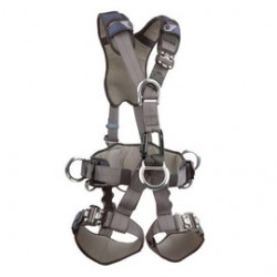 "3M - 1110910 - 3M DBI-SALA Medium ExoFit Derrick Full Body Style Harness With Back, Front And Side D-Ring, Tongue Leg Strap Buckle, 18"" Extension, Hip Pad, Belt And Seat Strap, ( Each )"