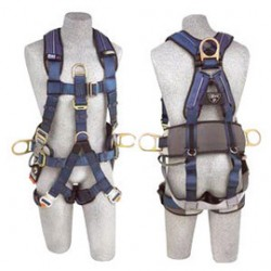 3M - 1111552 - 3M DBI-SALA Large ExoFit XP Full Body/Vest Style Harness With Back, Front And Side D-Ring, Hip Pad And Belt, Sub Pelvic Strap And Quick Connect Buckle, ( Each )