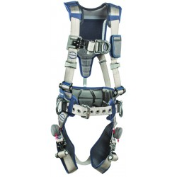 3M - 1112541 - 3M DBI-SALA Medium ExoFit STRATA Construction Style Harness With Aluminum Back, Front And Side D-Rings, Tri-Lock Revolver Quick Connect Buckles, Waist Pad And Belt, ( Each )