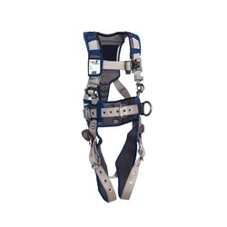 3M - 1112565 - 3M DBI-SALA Small ExoFit STRATA Construction Style Harness With Aluminum Back And Side D-Rings, Tongue Buckle Leg Straps, Waist Pad And Belt, ( Each )