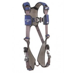 3M - 1113073 - 3M DBI-SALA 2X ExoFit NEX Full Body/Vest Style Harness With Tech-Lite Aluminum Back And Front D-Ring, Duo-Lok Quick Connect Leg And Chest Strap Buckle, Torso Adjuster, Back And Leg Comfort Padding And Loops For Body Belt, ( Each )