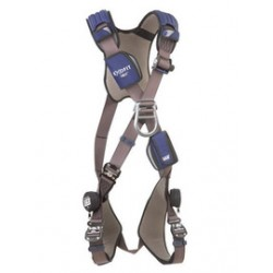 3M - 1113097 - 3M DBI-SALA Large ExoFit NEX Cross Over/Full Body Style Harness With Tech-Lite Aluminum Back And Front D-Ring, Duo-Lok Quick Connect Leg Strap Buckle, Torso Adjuster, Back And Leg Comfort Padding, ( Each )