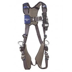 3M - 1113210 - 3M DBI-SALA Small ExoFit NEX Full Body/Vest Style Harness With Tech-Lite Aluminum Back, Front And Side D-Ring, Duo-Lok Quick Connect Leg And Chest Strap Buckle, Torso Adjuster, Back And Leg Comfort Padding, ( Each )