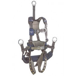 "3M - 1113295 - 3M DBI-SALA Small ExoFit NEX Oil And Gas Positioning/Climbing Harness With Back D-Ring, 18"" Extension, Tongue Buckle Legs And Connection For 1003221 Derrick Belt, Belt With Pad, Comfort Padding And Soft Seat Sling With Positioning"