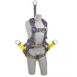 """3M - 1113307 - 3M DBI-SALA Large ExoFit NEX Oil And Gas Positioning/Climbing Harness With Back D-Ring, 18"""" Extension, Tongue Buckle Legs And Connection For 1000570 Derrick Belt, Belt With Pad, Comfort Padding And Soft Seat Sling With Positioning"""