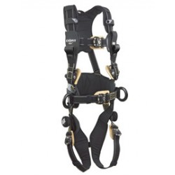 3M - 1113323 - 3M DBI-SALA X-Large ExoFit NEX Arc Flash Construction/Full Body/Vest Style Harness With Back And Front Web Rescue Loop, Belt With Pad, PVC Coated Aluminum Side D-Ring, Locking Quick Connect Chest And Leg Strap Buckle, Comfort Padding And