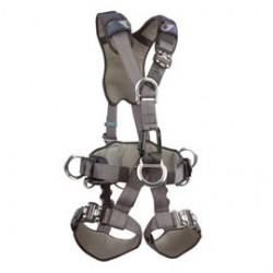 3M - 1113372 - 3M DBI-SALA Large ExoFit NEX Full Body Style Harness With Back, Front, Suspension And Side D-Ring, Belt With Pad, Duo-Lok Quick Connect Chest And Leg Strap Buckle, Hybrid Comfort Padding And Equipment Loops, ( Each )