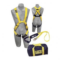 3M - 1150058 - 3M DBI-SALA X-Large Delta II Harness Kit (Includes Arc Flash Nylon Harness With Web Loop, 1220861 6' Arc Flash Shock Absorbing Lanyard And Carry Bag), ( Each )
