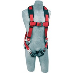 Capital Safety - 1191253 - DBI/SALA Medium/Large Protecta PRO Full Body/Vest Style Harness With Back D-Ring, Quick Connect Chest And Leg Strap Buckle And Comfort Padding, ( Each )