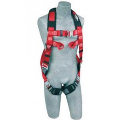 3M - 1191264 - 3M DBI-SALA Medium/Large PROTECTA PRO Industrial Climbing Vest Style Harness With Quick Connect Legs And Chest, Back And Leg Padding, Rear (Dorsal) And (2) Web Loops At Chest, ( Each )