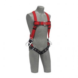 3M - 1191372 - 3M DBI-SALA Small PROTECTA PRO Vest Style Harness With Back And Side D-Rings And Tongue Buckle Leg Strap, ( Each )