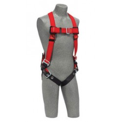 3M - 1191384 - 3M DBI-SALA X-Large PROTECTA PRO Welder's Vest Style Harness With Back D-Ring And Tongue Buckle Leg Strap, ( Each )