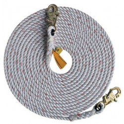 """3M - 1202878 - 3M DBI-SALA 150' 5/8"""" Polyester And Polypropylene Blend Rope Lifeline With Self-Locking Snap Hooks At Both Ends, ( Each )"""