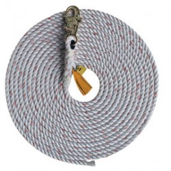 "3M - 1202892 - 3M DBI-SALA 175' Vertical 5/8"" Polyester/Polypropylene Blend Rope Drop Lifeline With Snap Hook And Tapered End, ( Each )"