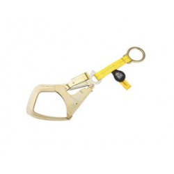 """3M - 1231305 - 3M DBI-SALA 18"""" Saflok Max Fixed Polyester Web Anchor Strap With D-Ring at One End And Rebar Hook at Other End, ( Each )"""
