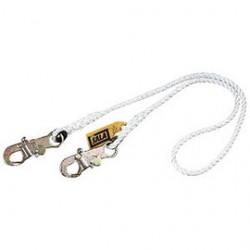 """3M - 1232209 - 3M DBI-SALA 6' 1/2"""" Nylon Rope Single-Leg Lanyard With Self-Locking Snap Hook At Ends, ( Each )"""