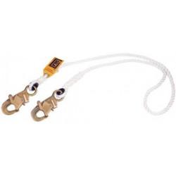 """3M - 1232328 - 3M DBI-SALA 4' 1/2"""" Nylon Rope Single-Leg Lanyard With Self-Locking Snap Hook At Both Ends, ( Each )"""