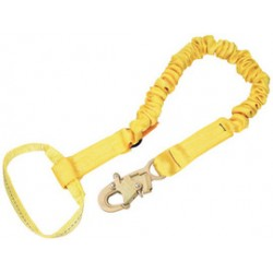 "3M - 1244310 - 3M DBI-SALA 6' Shockwave2 1 15/16"" Polyester Tubular Web Single-Leg Shock-Absorbing Lanyard With Snap Hook At One End And Web Loop At The Other, ( Each )"