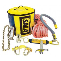 3M - 2104810 - 3M DBI-SALA Saflok Steel Remote Anchoring System (Includes Anchor Tube Tool, Carabiner, Rope Grip, Rescue Loop Sling And Carrying Bag), ( Each )