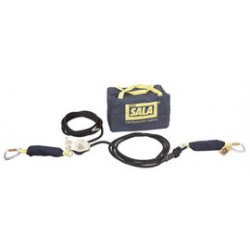 3M - 2200410 - 3M DBI-SALA 15' Sayfline Horizontal Synthetic Kernmantle Rope Lifeline System (Includes Tensioner, Energy Absorbers And Carrying Bag) For Use With Mobi-Lok Vacuum Anchor Systems, ( Each )