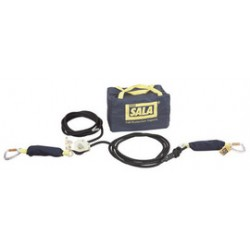 "3M - 2200425 - 3M DBI-SALA 6' 1"" Sayfline Horizontal Synthetic Kernmantle Rope Lifeline System (Includes Tensioner, Energy Absorbers And Carrying Bag) For Use With Mobi-Lok Vacuum Anchor Systems, ( Each )"