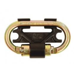 "3M - 3100087 - 3M DBI-SALA Nano-Lok 3/4"" Self-Locking/Closing Twin Leg Zinc Plated Steel Anchorage Connector, ( Each )"