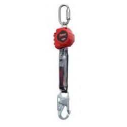3M - 3100403 - 3M DBI-SALA 6' PROTECTA Rebel Single Leg Self Retracting Polyester Web Lifeline With Steel Swiveling Snap Hook, Swiveling Anchorage And Carabiner, ( Each )