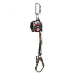 3M - 3100426 - DBI/SALA 11' PROTECTA Rebel Single Leg Self Retracting Polyester Web Lifeline With Swiveling Steel Snap Hook, Swiveling Anchorage And Anchorage Carabiner, ( Each )