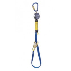 3M - 3101365 - 3M DBI-SALA 9' Nano-Lok Tie-Back Self-Retracting Nylon Web Lifeline With WRAPABAX Gated Snap Hook And Aluminum Carabiner, ( Each )