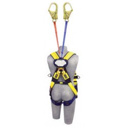 "3M - 3102006 - 3M DBI-SALA 6' Talon Twin-Leg Self-Retracting 1"" Nylon Web Lifeline With Aluminum Hook, ( Each )"