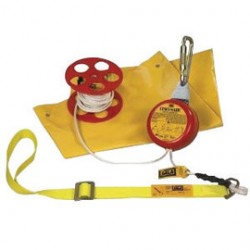 "3M - 3300060 - 3M DBI-SALA Rescumatic Descent Control Device (Includes 60' 5/16"" Galvanized Wire Core Polyester Rope Lifeline, Body Sling, Rope Spool, Carrying Bag And Anchoring Carabineer), ( Each )"
