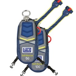 3M - 3320031 - 3M DBI-SALA 100' Self-Rescue Device With EZ-Link D-ring And Secondary Rescue Ring, ( Each )