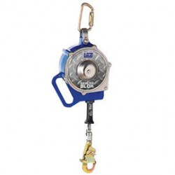 "3M - 3400851 - 3M DBI-SALA 30' Sealed-Blok Self-Retracting 3/16"" Stainless Steel Wire Rope Lifeline With Self-Locking Swivel Hook And Retrieval Winch, ( Each )"