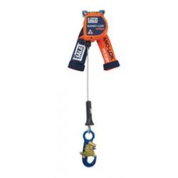 "3M - 3500215 - 3M DBI-SALA 8' Nano-Lok edge 3/16"" Galvanized Steel Cable Single Leg Self-Retracting Lifeline With Aluminum Snap Hook, ( Each )"